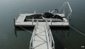 Flotation Systems dock pier floating pier p24