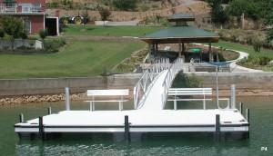Flotation Systems dock pier floating pier p4