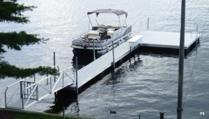 Flotation Systems dock pier floating pier p5