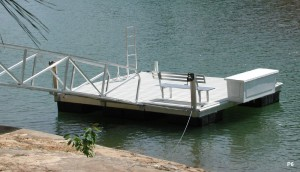Flotation Systems dock pier floating pier p6