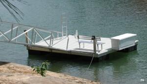 Flotation Systems dock pier floating pier p6