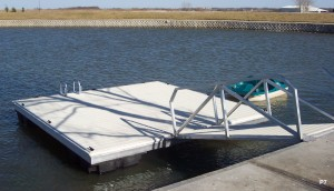 Flotation Systems dock pier floating pier p7