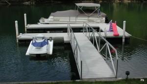 Flotation Systems dock pier floating pier p9