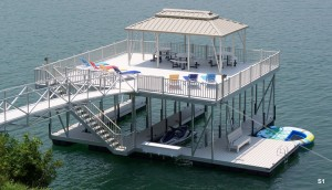 Flotation Systems sundeck boat dock S1