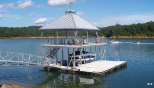 Flotation Systems sundeck boat dock S12