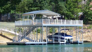 Flotation Systems sundeck boat dock S13