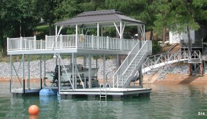 Flotation Systems sundeck boat dock S14