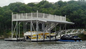 Flotation Systems sundeck boat dock S18