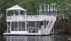 Flotation Systems sundeck boat dock S20