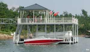 Flotation Systems sundeck boat dock S22