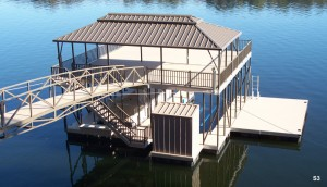 Flotation Systems sundeck boat dock S3