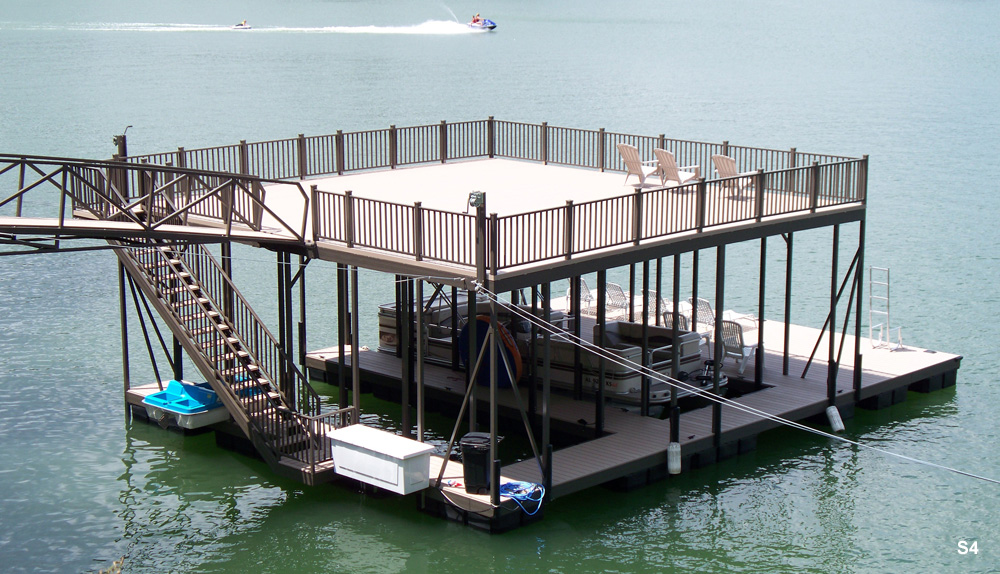 Flotation Systems Sundeck Boat Dock Gallery Flotation