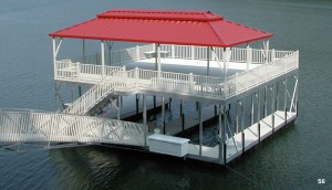 Flotation Systems sundeck boat dock S6