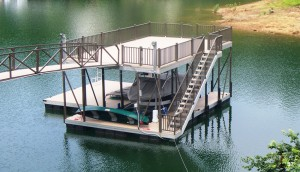 Flotation Systems sundeck boat dock S7