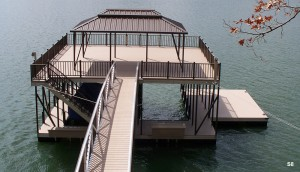 Flotation Systems sundeck boat dock S8