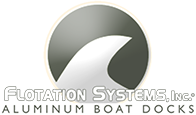 Flotation Systems Aluminum Boat Docks