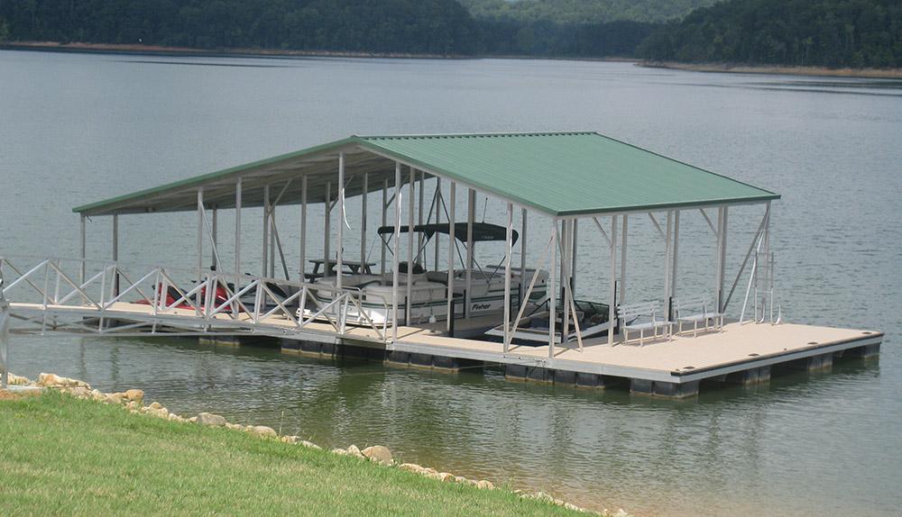 C B S Dock Service | Flotation Systems Aluminum Boat Docks