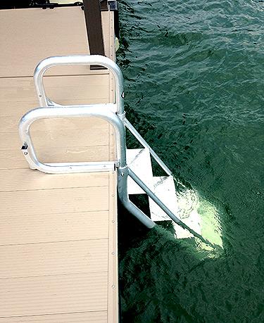 Flotation Systems Dock Ladder Down Flotation Systems