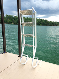 Flotation Systems Dock Ladder Up