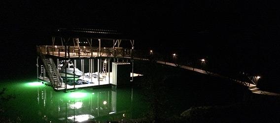 Flotation Systems Underwater Fishlight 1