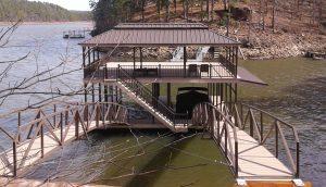 Flotation Systems, Inc. Aluminum Boat Docks - Hunter Fant