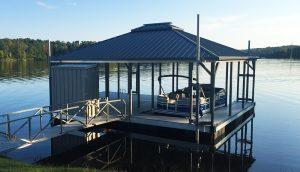 Flotation Systems Hip Roof Boat Docks