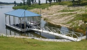 Flotation Systems, Inc. - Hip Roof Boat Docks