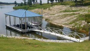 Flotation Systems, Inc. - Hip Roof Boat Docks