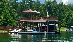 Flotation Systems, Inc. Aluminum Boat Docks - Sundeck Boat Dock