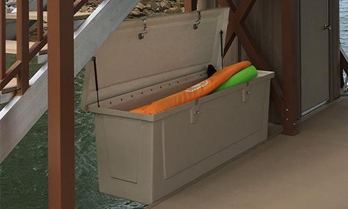 Flotation Systems Boat Dock Locker