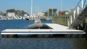 Flotation Systems Aluminum Boat Docks - Piers and Platforms