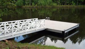 Flotation Systems Aluminum Boat Docks - Aluminum Piers and Platforms