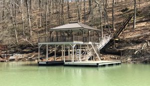 Flotation Systems, Inc. Aluminum Boat Docks - Sundeck Boat Docks
